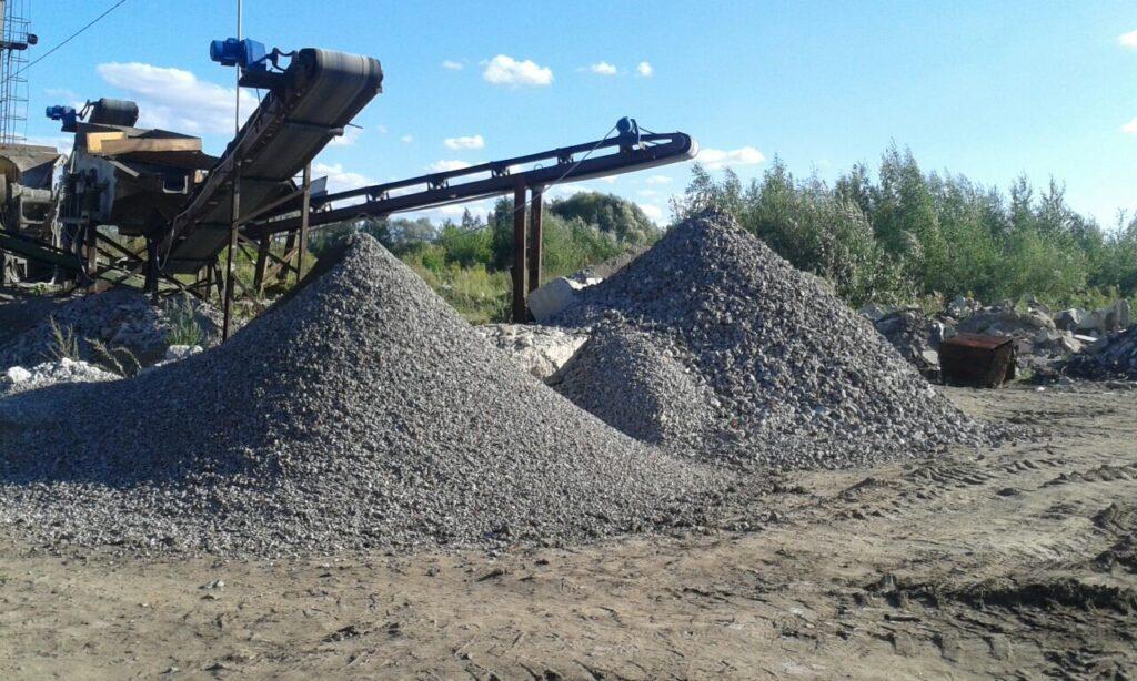 Производство и продажа бетонного щебня